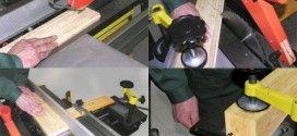 Правила безопасной работы на строгальных деревообрабатывающих станках