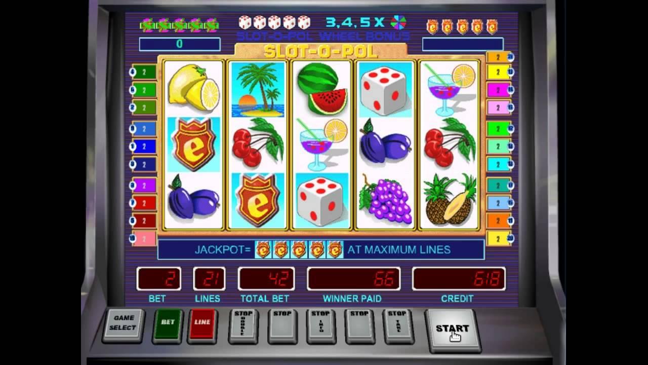 Игровые аппараты онлайн с начальной стартовой суммой