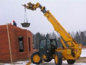 аренда телескопических погрузчиков