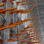 Консольные стеллажи для склада